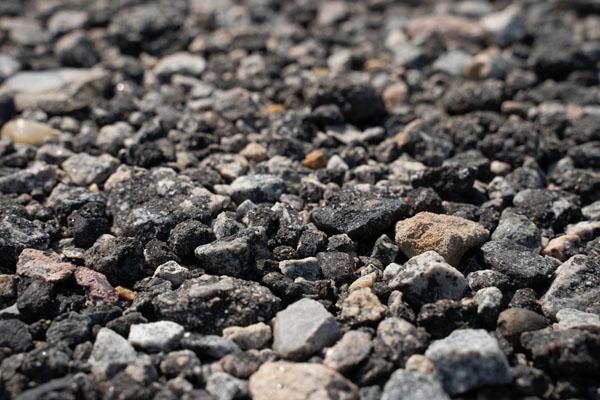 Crushed Asphalt and Concrete